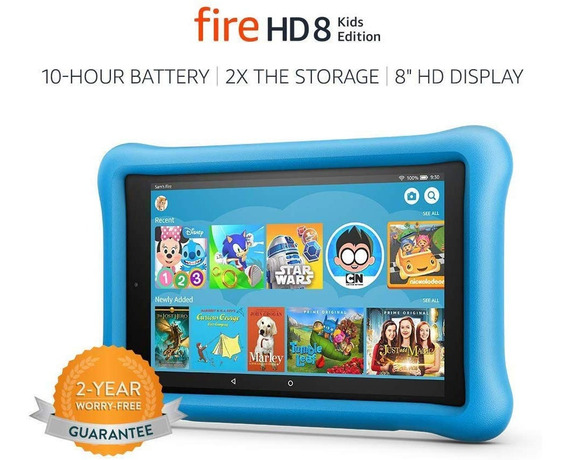 Tablet Amazon Fire Hd 8 Kids Edition, 32 Gb
