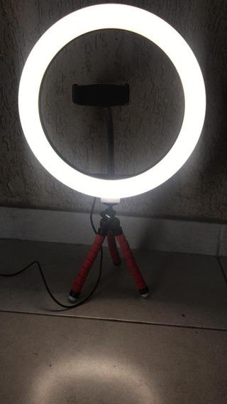 Mini Ring Light +fonte 5v