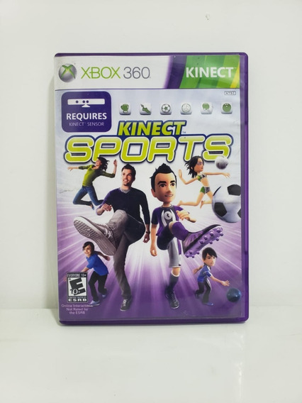 Kinect Sports 1 Xbox 360 Original Seminovo Portugues