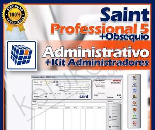 Sistema Administrativo Saint Professional 5.0 Original