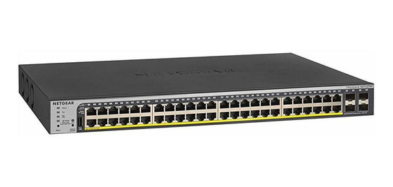 Switch Netgear 52-port Gigabit Ethernet Smart Managed P 1909