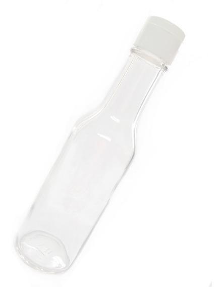 Botella De Vidrio Salsa 5 Oz 165 Ml 1 Pz