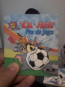 Tom E Jerry Fim De Jogo Livreto Livrinho Infantil Ilustrado