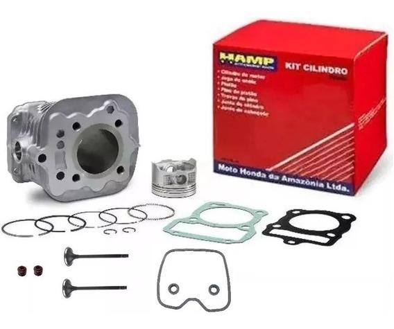 Kit Motor Hamp Titan/fan/bros 150+retentores+valvulas+guarni
