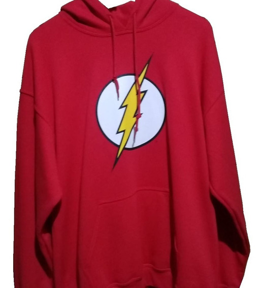 Sudadera Superman Y Flash (hoodie)