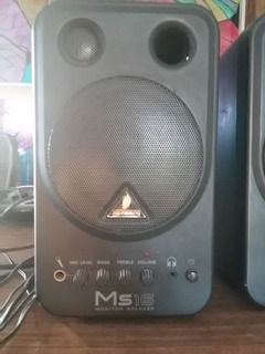 Monitores Behringer Ms 16