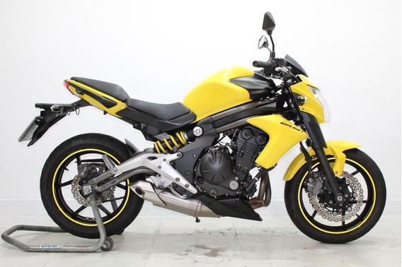 Kawasaki Er 6n 2013 Amarela