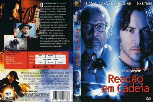 Dvd Reação Em Cadeia (1996) Keanu Reeves- Dublagem Clássica | Mercado Livre