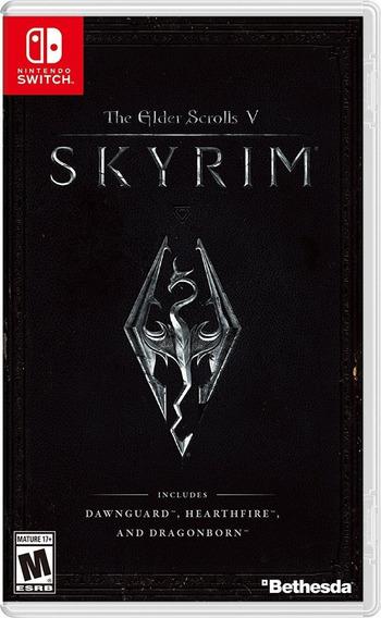 The Elder Scrolls V Skyrim - Nintendo Switch Codigo Digital