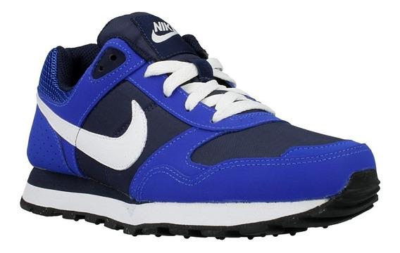Tenis Nike Md Runner Mujer Moda Gym New Smith Casual Azul