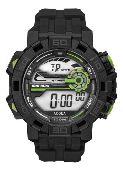 Relógio Mormaii Masculino Action Preto Mo1148ac/8a Original C/ Nota Fiscal Barato