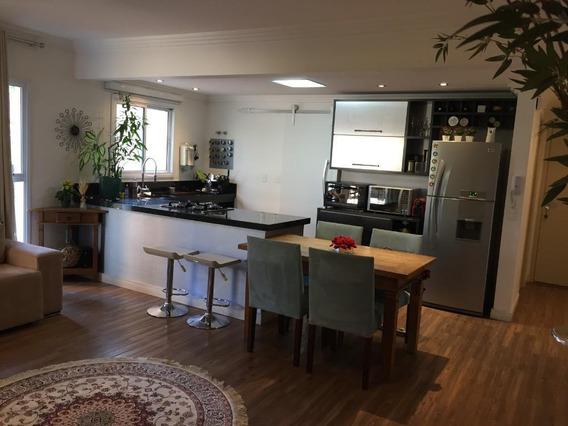 Apartamento Com 67 M² Sendo 1 Suite E 2 Vagas À Venda, Por R$ 450.000 - Jardim - Santo André/sp - Ap1981