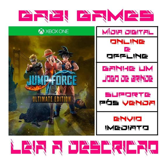 Jump Force Ultimate Edition Xbox One Digital Offline+ Brinde