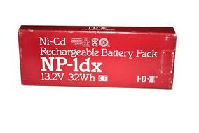 Bateria Recarregavel Camera De Video Sony Idx Np-1dx