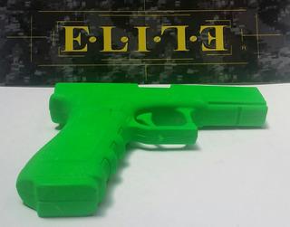 Pistola De Entrenamiento Polimero Glock Hulk Green