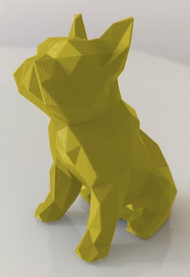 Cachorro Bulldogue Para Decoração Consultório