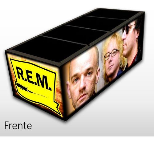Imagem 1 de 5 de Rem Banda Porta Controle Em Madeira Mdf Exclusivo R.e.m.
