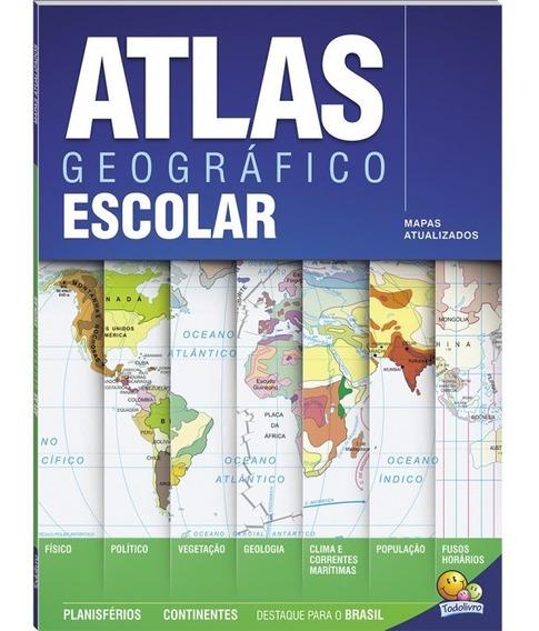 Atlas Geográfico Escolar 68 Paginas