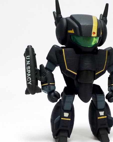Robotech Chibi Vf-1s Stealth Fighter Exclusive Toynami