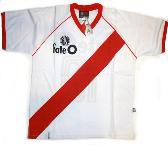 Camiseta Retro De River Plate Para Adulto Licencia Oficial