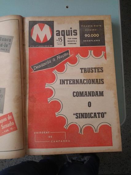 Coletanea Da Revista Maquis Para Colecionadores. Ano Iii,