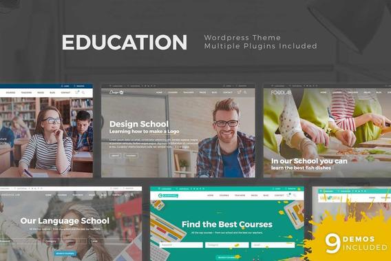 Education Pack - Tema Wordpress Premium Lms