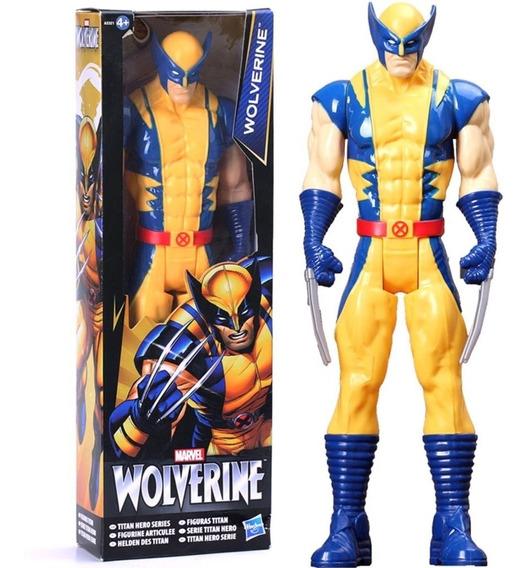 Boneco Articulado Wolverine Marvel 30 Cm (pronta Entrega)