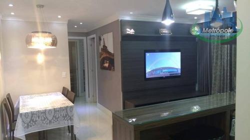 Apartamento Com 2 Dormitórios À Venda, 55 M² Por R$ 280.000 - Vila Endres - Guarulhos/sp - Ap0948