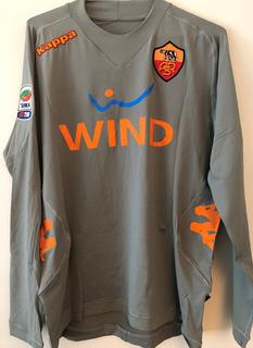 Camisa Roma Stekelenburg #24 Preparada/ Usada Jogo 2012/13
