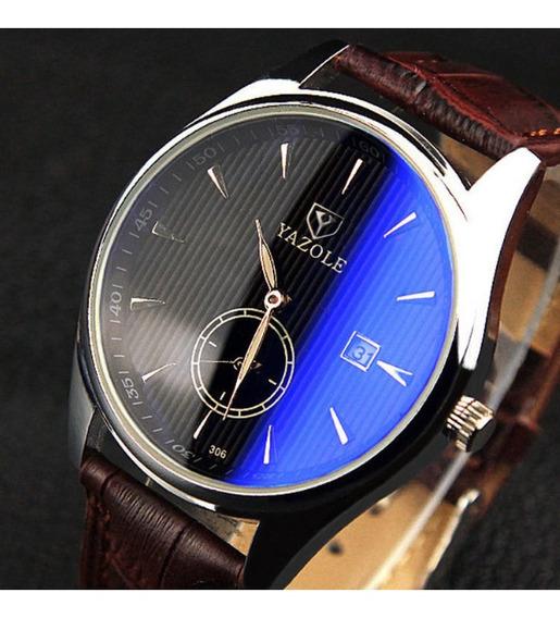 Relógio Yazole Masculino Original Lançamento Calendário