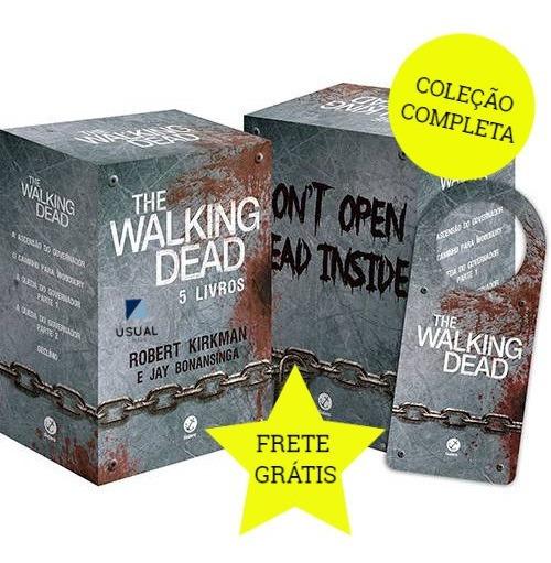Coleção Livro Box The Walking Dead - 5 Volumes Lacrado