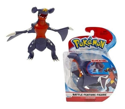 Pokémon Figura De Ação Garchomp 11cm Battle Figure Wct Sunny