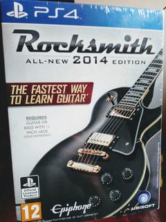 Rocksmith 2014 Edition Ps4 Nuevo Y Sellado