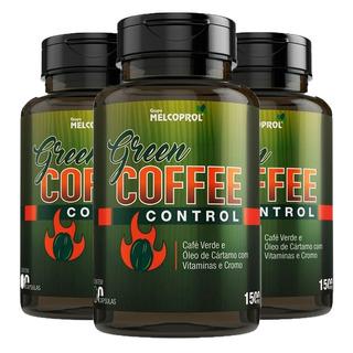 Green Coffee Control Café Verde - 3x 60 Cápsulas - Melcoprol