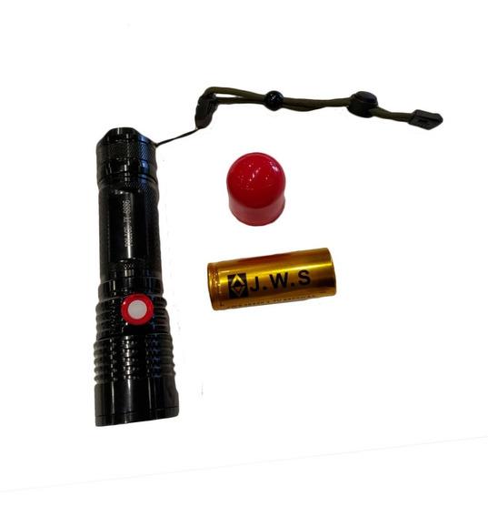 Lanterna Tática Militar Recarregável Led T6 Jyx - Jy-8886