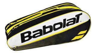 Bolso Raquetero Babolat Club X6 Tenis Con Efecto