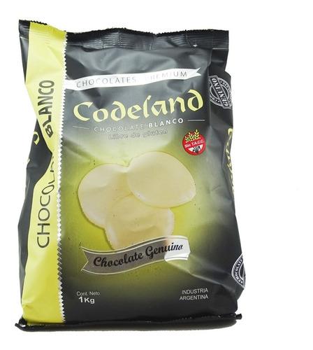 Chocolate Cobertura Codeland Blanco Xkg Cotillon Sergio Once