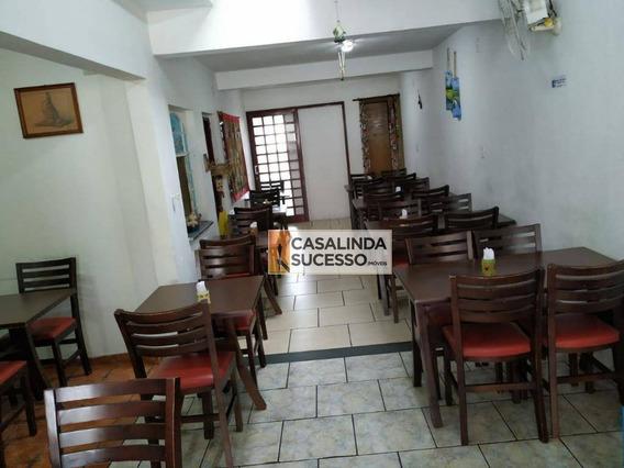 Restaurante À Venda, 203 M² Por R$ 750.000 - Vila Matilde - São Paulo/sp - Pt0001