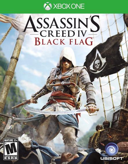 Jogo Assassins Creed Black Flag Xbox One Xone Mídia Física