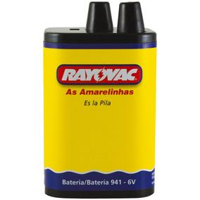 Pilha Rayovac Bateria 6v Cx/06