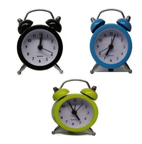 Imagem 1 de 6 de 15 Uni. Despertador Mini Relógio Vintage Retro Lembrancinha