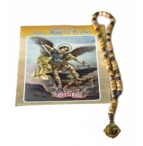 Terço Com Oração Marfim São Miguel Arcanjo