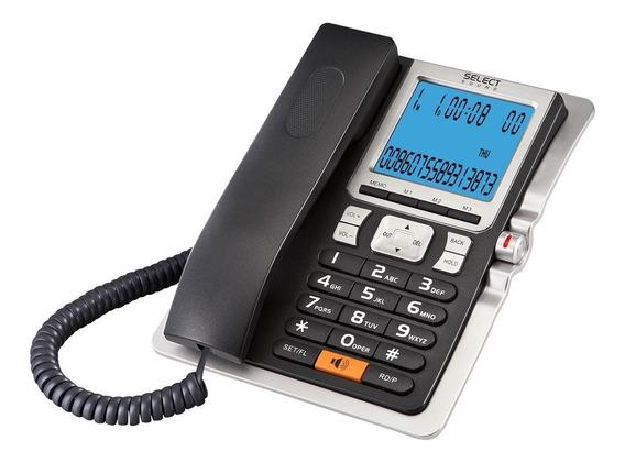 Teléfono De Escritorio Select Sound Con Caller Id Alarma