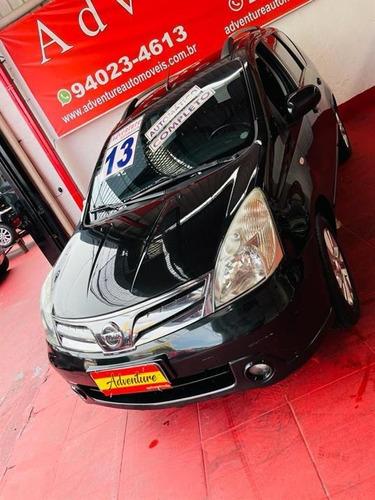 Nissan Livina  Sl 1.8 Flex Ano: 2013 Preto Completo Aut