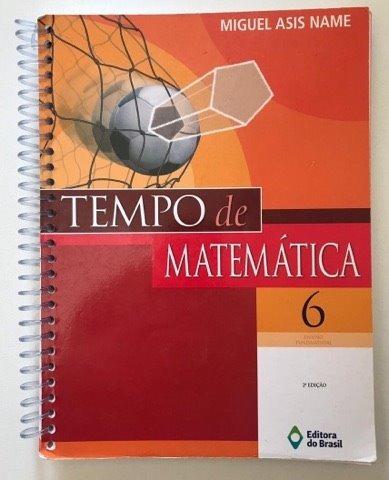Livro Tempo De Matematica 6 Editora Do Brasil Usado