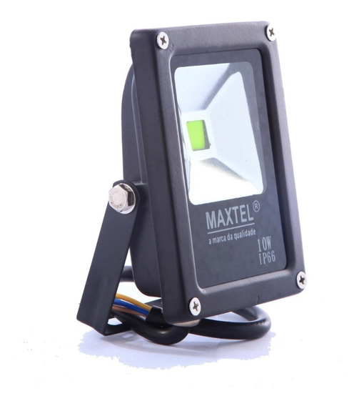 Refletor Verde Led Holofote 10w Maxtel Bivolt Ip66
