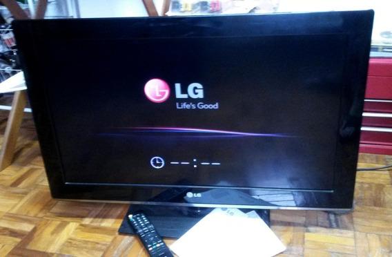 Tv Lcd Lg 32 Polegadas Conversor Dtv Funcionando 100% Nota