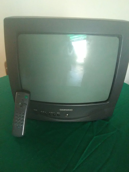 Televisor Daewwo, En Perfecto Estado, Con Su Control Remoto