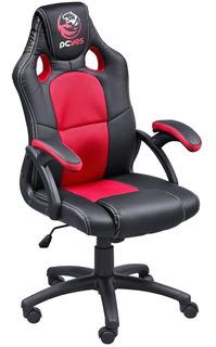 Cadeira Computador Gamer Ergonômica Mad Racer Vermelho Pcyes