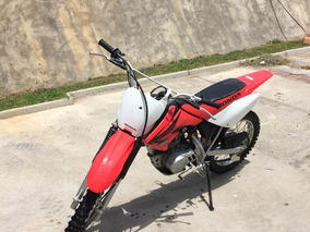 Honda Crf 100cc Roja
